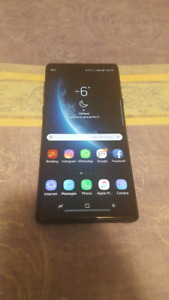 Samsung Galaxy Note 9 10/10 with Icon X 2018