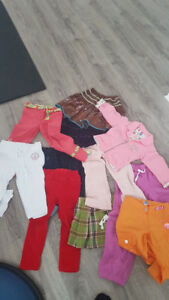 Baby and Kid clothing and toys: over 50 pieces