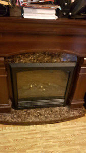 Medium size Electric Fire Place (AS IS)