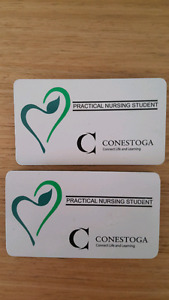 Conestoga college RPN tags and tops
