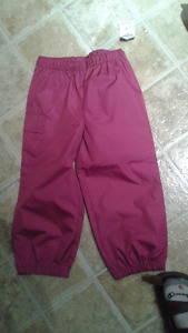 Brand New with Tags Osh Kosh Slush or Splash Pants- Size 2T Pink