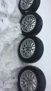 205/55/16 michelin on bmw Rims