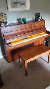 Dietmann Iron framed piano with stool