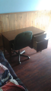 Desk and Chair $30 combo