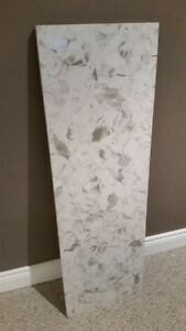 "46 1/2"" x 14 1/2"" Quartz Counter Slab"
