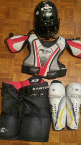 Kids hockey gear for sale age 6 - 9 years old