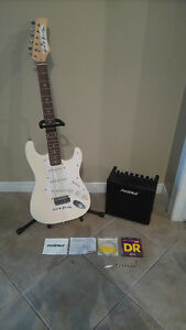 Awesome beginner Guitar with Amp and all accessories