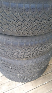 205    70    R 15 name brand winter tires $390.00 obo