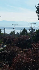 Serene 2 bdr with Ocean and Olympic Mountain Views in Esquimalt