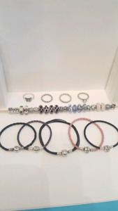 Authentic Pandora Bracelets, Rings and Charms