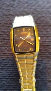 Citizen gold watch