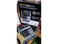 Xenyx Q802USB mixer