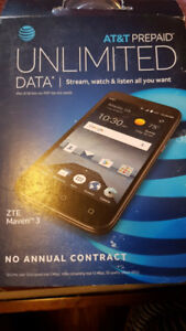 ZTE MAVEN 3 CELL PHONE