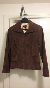 Danier suede jacket - ladies - XXS