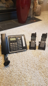 RCA dual phone line business phone