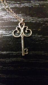 Canadian diamond key necklace