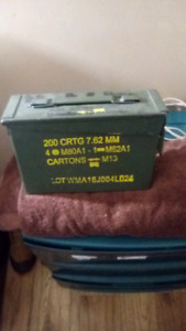 Ww2 ammo boxes one big one small