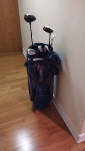 Ladies' Golf Clubs and Nike Bag