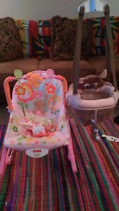 Jumper and Sitting chair for sale!