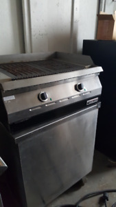 electric char grills ovens