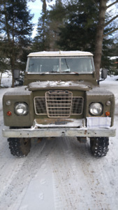 1983 Land Rover Series 3 109 Left Hand Drive
