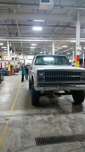 Looking for a 4x4 truck