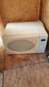 Counter top microwave