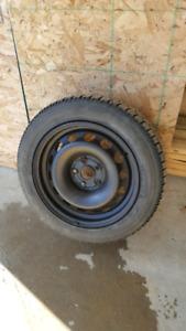 5 x 112 - Nitto SN2 winter tires 205/ 55/16