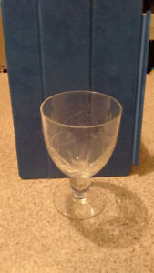 Large Crystal Wine Goblets