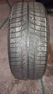"18"" Michelin snow tires set of 4"
