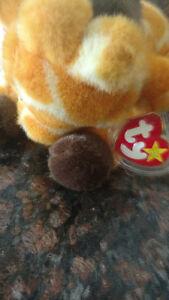 Original Beanie Buddy Twigs the Giraffe - 1st Generation 1998