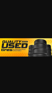 USED WINTER TIRE SALE!!! FREE INSTAL. AND BAL. 75-95% tread left