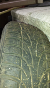 Winter Tires R13 70% Tread with rims