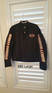 Mens Harley clothes - most new. Most are XL and some L sizes.