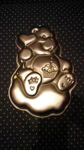 Teddy bear baking pan