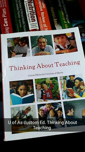 EDUCATION TEXTBOOKS: Thinking About Teaching