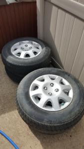 Set of 4 Trailer Tires