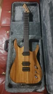 Blackmachine B6 style Custom guitar