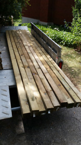 Pressure Treated 4 by 4 by 12 foot posts