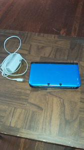 Nintendo 3DS grand galaxy blue and games