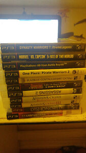PS3 games for sale ask and I give price