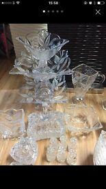 Crystal set 52 piece