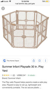 Summer Baby Gate/Yard with Extension