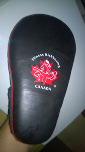Boes Leather punch pad kickboxing