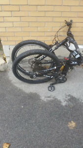 Altruism X9 Downhill Full Suspensioin Collapsable Mountain Bike