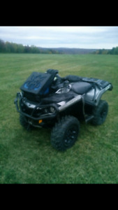CAN AM OUTLANDER 1000 9000$