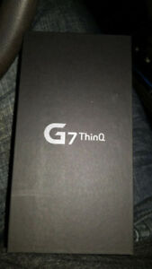 Brand New in Box LG G7 Thinq 64gb - Unlocked and Unopened