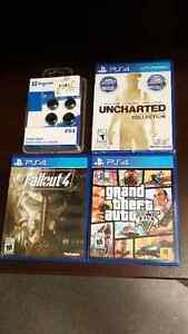 Fallout 4, GTA 5 & Great White DLC, Uncharted Collection -$20 ea