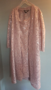 Beautiful sequined dress worn once for Mother of the Bride
