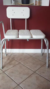 Bath Transfer/Shower Benches different Sizes and Designs